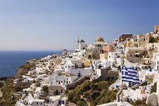 Free Oia, Santorini, Greece Royalty Free Stock Image - 8535296