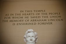 Free Abraham Lincoln Memorial Royalty Free Stock Photos - 8535388