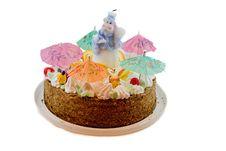 Free Big Birthday Cake Stock Image - 8535411