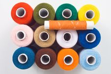 Free Sewing Spools Royalty Free Stock Image - 8535606