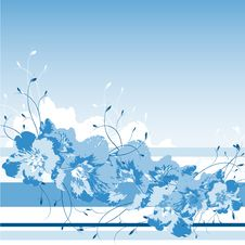 Free Abstract Floral Design With Plants Stock Photography - 8535732