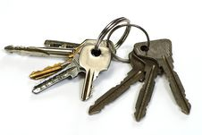 Free Bunch Key Stock Image - 8535741