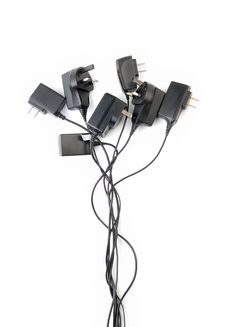 Free AC Power Plugs Royalty Free Stock Images - 8535799