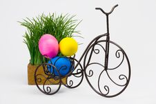 Free Easter Eggs Stock Image - 8535841