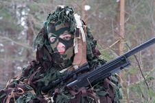 Free Sniper Royalty Free Stock Photos - 8536578