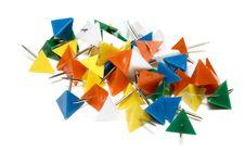 Free Plastic Tacks Stock Photography - 8536802