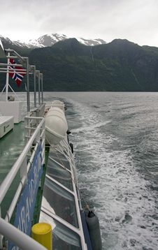 Free Cruise In A Fjord Royalty Free Stock Image - 8536806