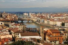 Panorama Of Florence, Italy Royalty Free Stock Photography