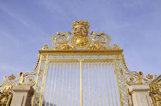 Free The Door With Golden Royalty Free Stock Images - 8537259