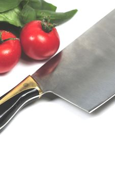 Kitchen Tool And Vegetables