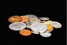 Free Coins Royalty Free Stock Photos - 8538548