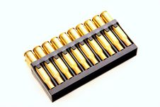 Free Gold Bullets Royalty Free Stock Photography - 8538607