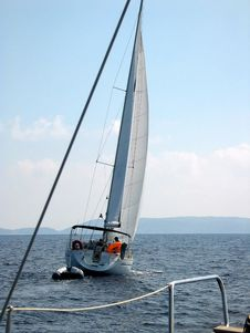 Free Sailing Corfu Royalty Free Stock Image - 8538616