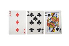 Free Playing Cards Royalty Free Stock Images - 8539329