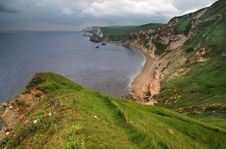 Free Dungy Head - Dorset Coast, England Royalty Free Stock Image - 8539346