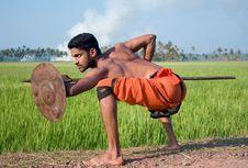 Free Kalari, Indian Martial Art Stock Photo - 8539970