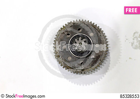 Free Titanium And Steel Gears Oil Stock Photos - 85328553