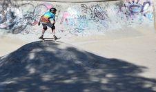 Free Skater In Skatepark Royalty Free Stock Photo - 85379615