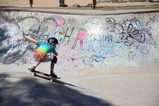 Free Skater In Skatepark Stock Image - 85381011