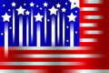 Free American Flag Stylized Background Royalty Free Stock Photos - 8540298