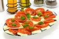 Free Fresh Salad With Tomato And Mozzarella Stock Photo - 8541880