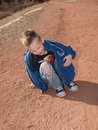 Free Young Relaxing In The Dirt Royalty Free Stock Images - 8543449