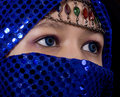 Free Blue Eyes Orient Stock Image - 8545101