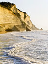 Free Cliff At Corfu, Greece Royalty Free Stock Images - 8548699