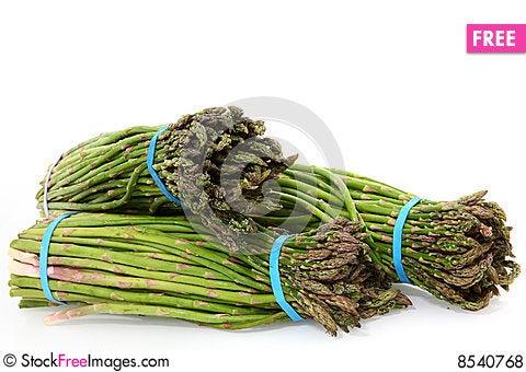 Free Mexican Asparagus Royalty Free Stock Photos - 8540768