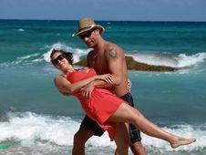 Free Romantic Couple Royalty Free Stock Photo - 8540015