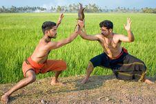 Free Kalari, Indian Martial Art Royalty Free Stock Image - 8540016