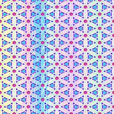 Free Light Pastel Pattern With Red Flowers Stock Images - 8540034