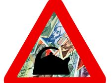 Free World Economic Crisis. Royalty Free Stock Photos - 8540598