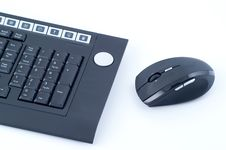Free Wireless Keyboard With Mouse Stock Image - 8540601
