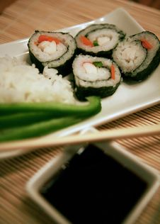 Free Sushi For One Stock Photos - 8540703