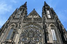 Free Cathedral Of Saint Vitus Royalty Free Stock Photo - 8540955