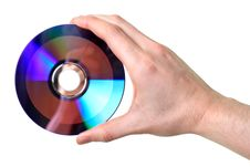 Free Hand Holding Disc Stock Photos - 8541173