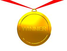 Free Winner Medal Royalty Free Stock Photos - 8541218