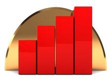 Free Raising Charts Royalty Free Stock Photo - 8541255