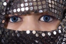 Free Blue Eyes Orient Royalty Free Stock Image - 8541416