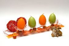 Free Easter Theme Composition Royalty Free Stock Photo - 8541425