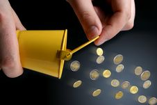 Free Coins Royalty Free Stock Photo - 8541775