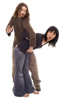 Free Domestic Violence Stock Photos - 8542373