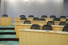 Free Empty Classroom Royalty Free Stock Photos - 8542798