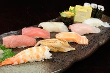 Free Sushi And Sashimi Stock Photos - 8542903