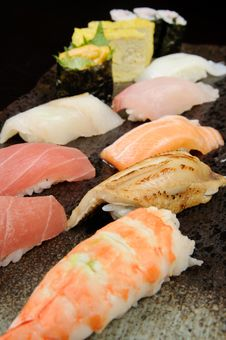 Free Sushi And Sashimi Royalty Free Stock Photos - 8542908
