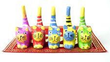Free Wood Cat Stock Photos - 8543153
