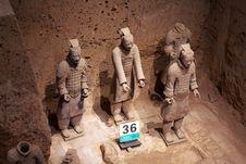 Free China/Xian:Terracotta Warriors And Horses Royalty Free Stock Photo - 8543485