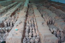 Free China/Xian:Terracotta Warriors And Horses Royalty Free Stock Image - 8543546