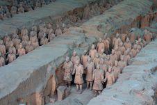 Free China/Xian:Terracotta Warriors And Horses Royalty Free Stock Photo - 8543595